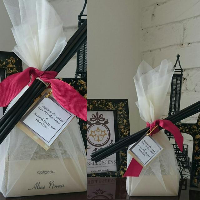 Brindes Personalizados para a querida Aline Novais e Eliel