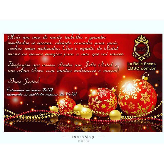 Feliz Natal e um 2016 Maravilhoso