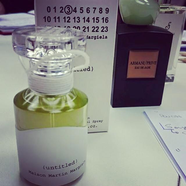 O perfume é uma escrita, uma tinta, uma escolha