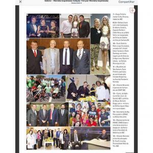 Estamos na Edição deste mês da revista